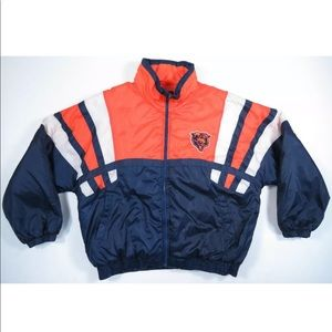 Chicago Bears Quilted Insulated Puffer Jacket Coat
